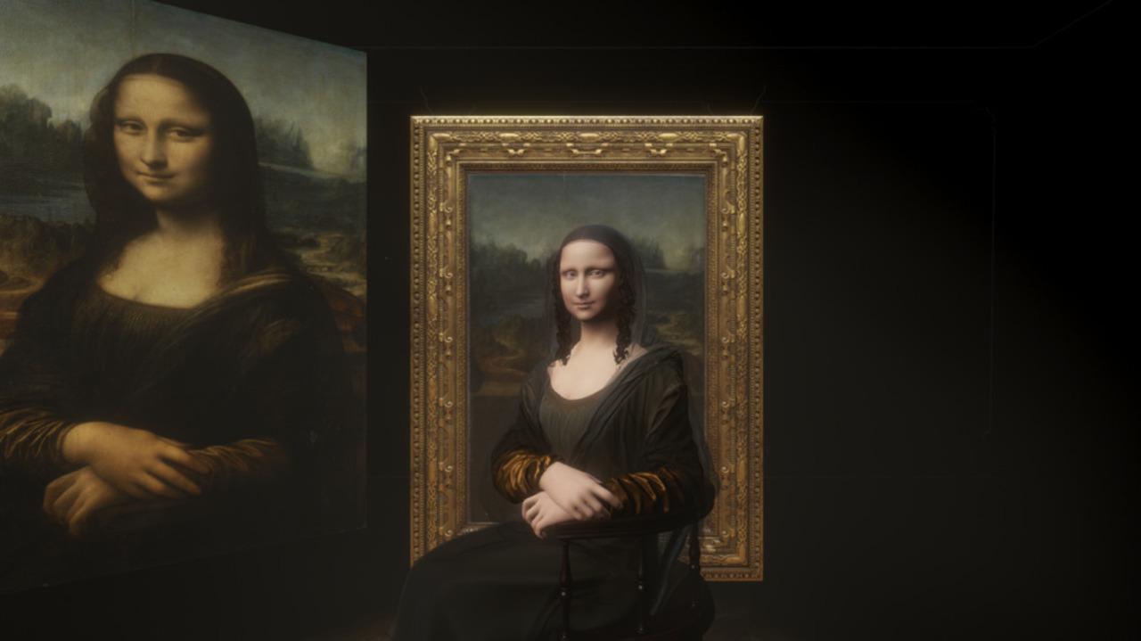 500年前の美女『モナ・リザ』がVRで立体化。ルーヴル美術館で体験できる!