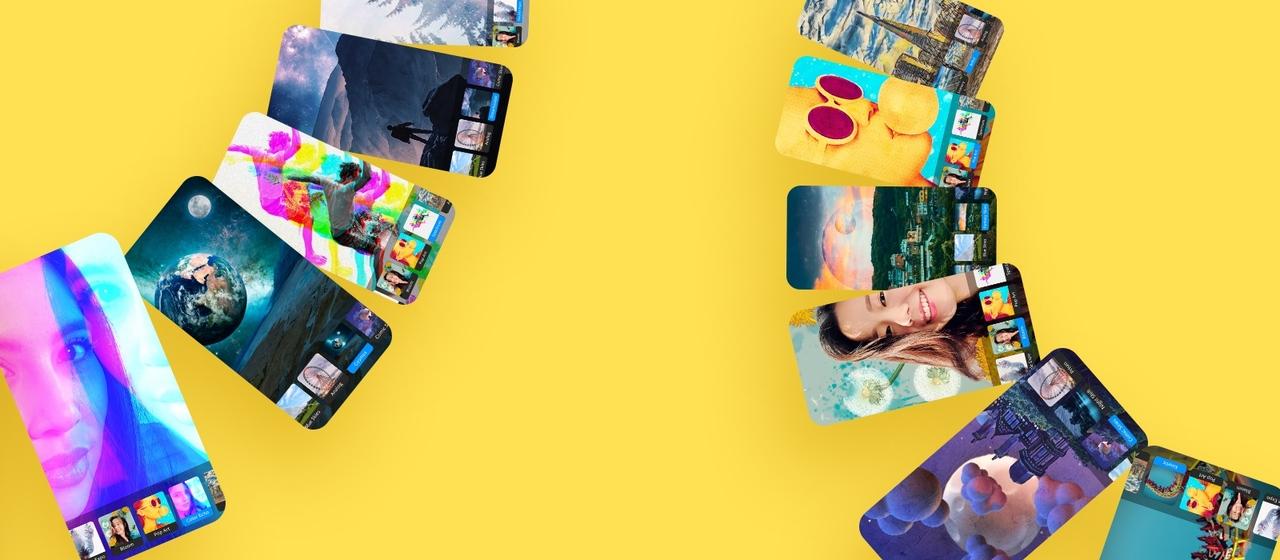 ついに来ました、Adobeのカメラ。AIファーストな新アプリ「Photoshop Camera」2020年に正式リリース
