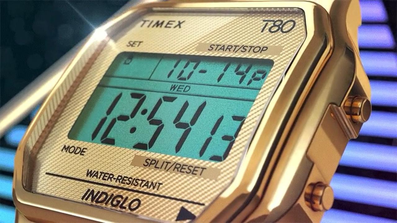 スマートウォッチじゃないよ。80年代のデジタル時計「Timex T80」が復活!