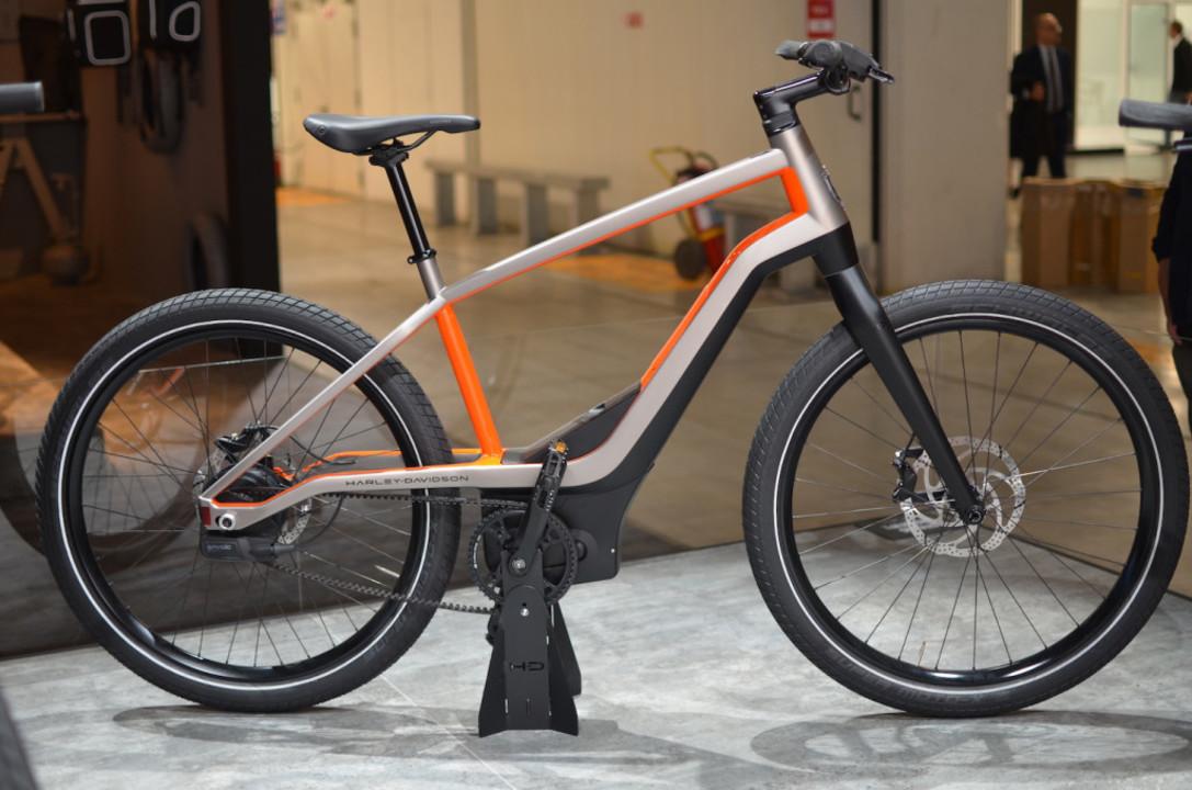 バイクじゃなくて電動自転車! スタイリッシュなハーレーダビッドソン・E-Bicycle