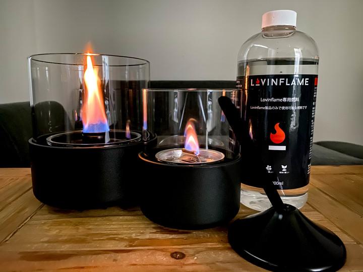 専用燃料と特許技術で実現したポータブル暖炉「Lovinflame」を使ってみた