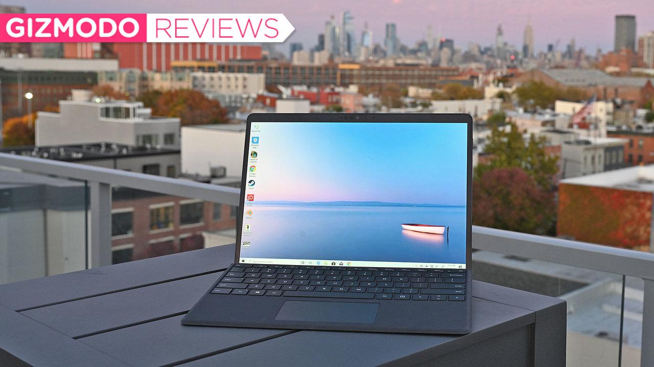 MicrosoftのLTE接続対応2-in-1ノートPC「Surface Pro X」レビュー:見た目はクールでスタイリッシュ、でもイマイチうまくいってない