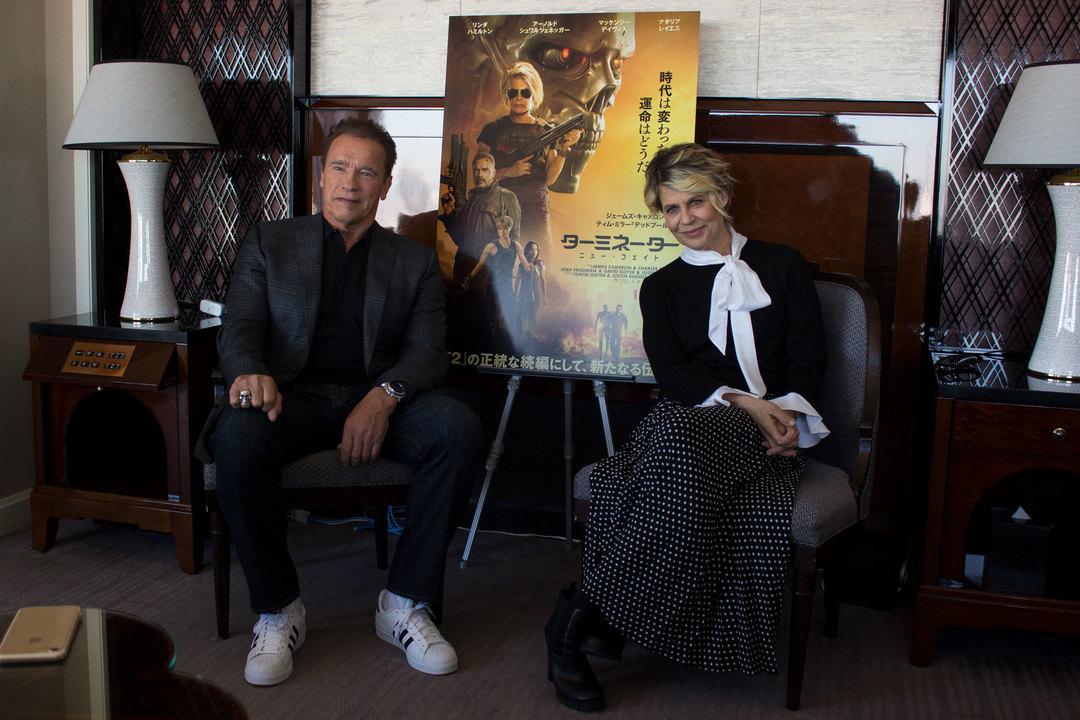 【ネタバレあり】アーノルドを愛して30年。遂に本人にインタビュー!『ターミネーター:ニューフェイト』好き好き大好きシュワルツェネッガー!