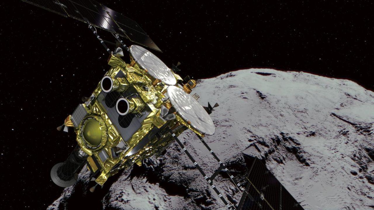 「はやぶさ2」が小惑星リュウグウから離脱作業開始。玉手箱を積んで地球に帰ってくるぞ