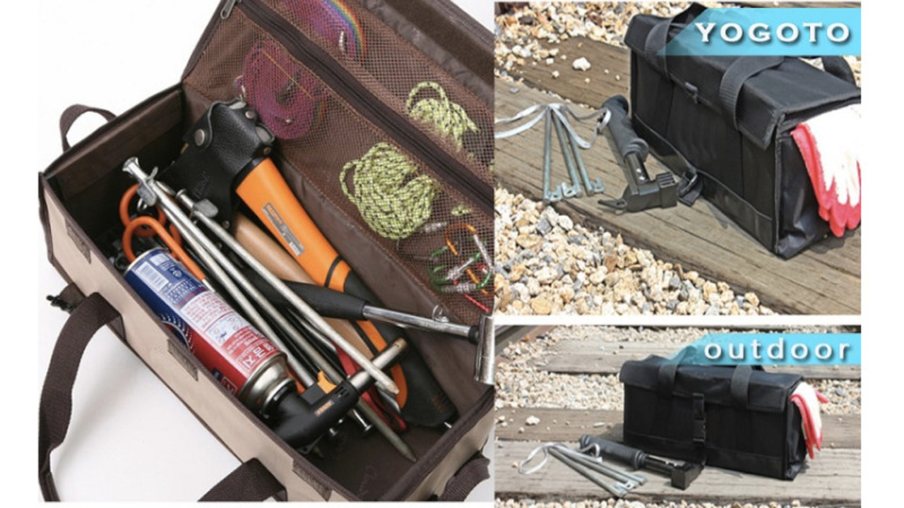 アウトドアでも自宅でも便利! 頑丈で折りたためるバッグ型収納ボックス2選