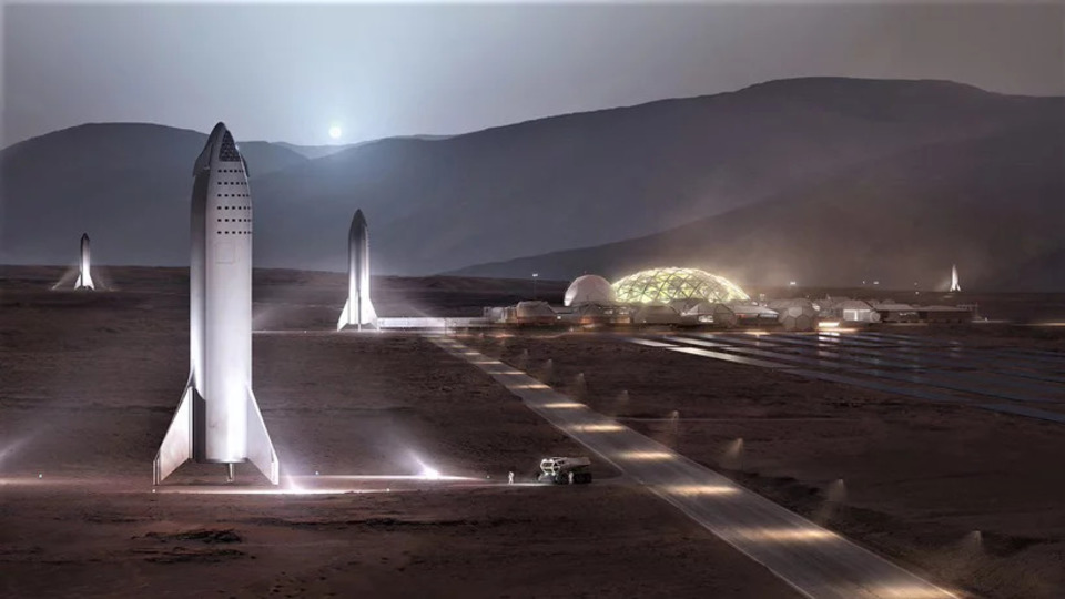 イーロン・マスク「火星基地アルファを造るには1000機のStarshipで20年かかる」と発言