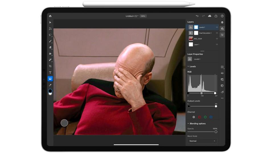 iPad版Photoshopがだめだ...。何が足りないんだろう