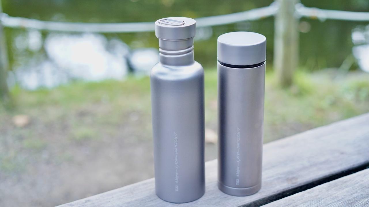 話題のチタン水筒「Therma 3.0」に所有欲が満たされた。金属でこんなに違いがあるなんて...