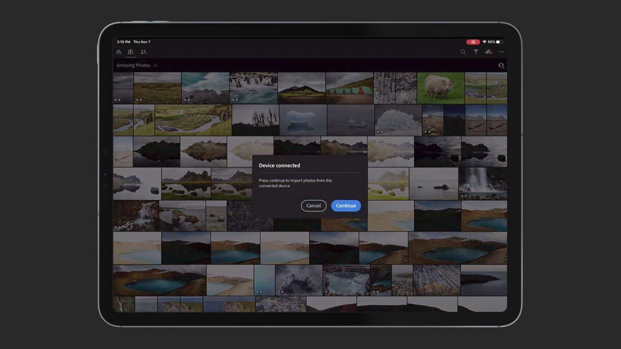 控えめに言って神。iPad版LightroomでSDカードから写真を直接取り込めるようになるっぽい