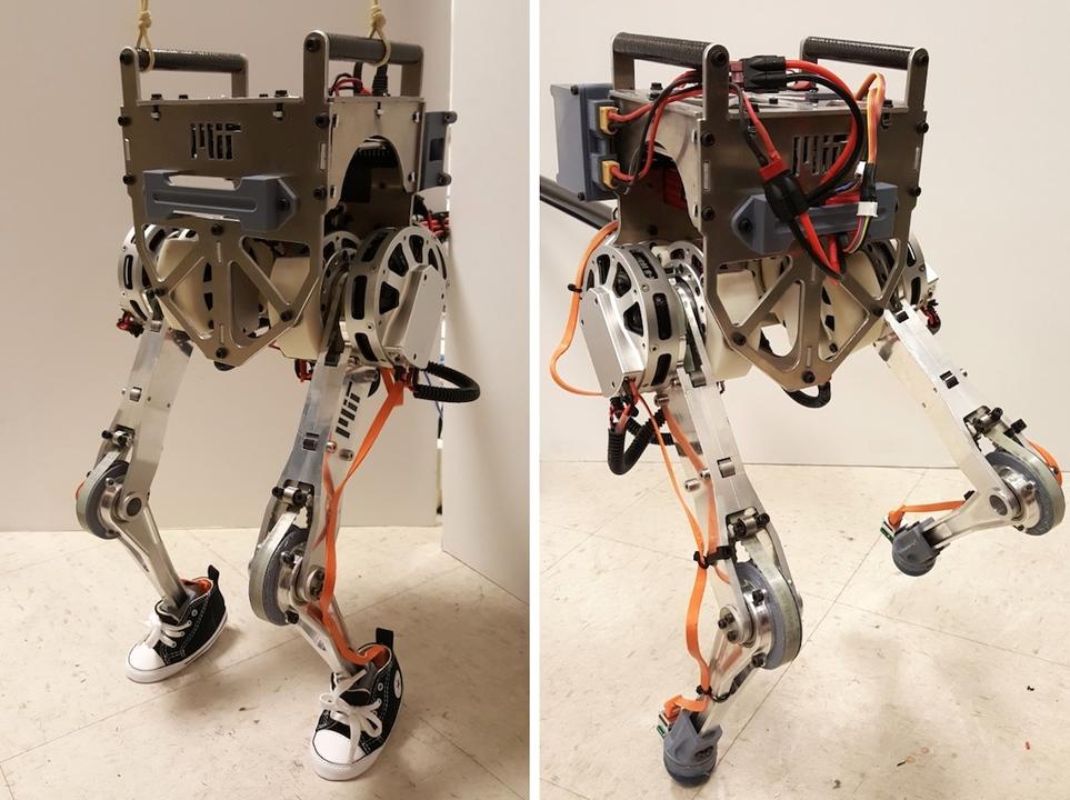 人間の動きを瞬時にトレース。遠隔操作ロボット「リトル・エルメス」