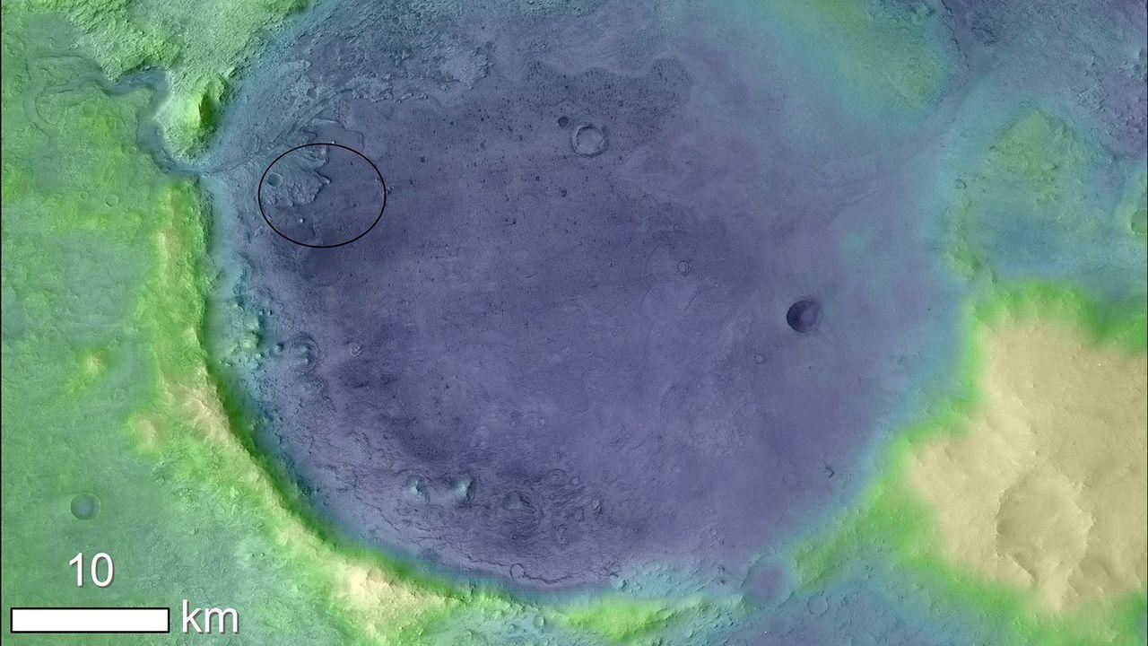 NASAの火星探査機の次の着陸場所はココ。生命の痕跡がある可能性も