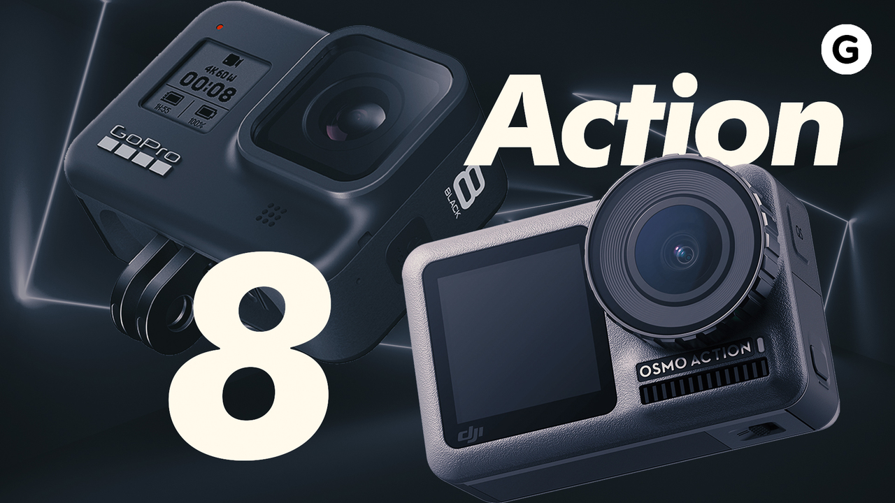 GoPro HERO8とOsmo Action、旅行撮りするならこっち!