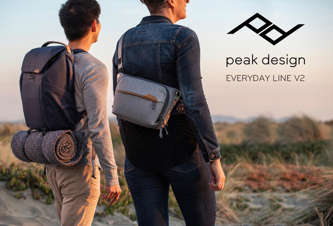 PeakDesignのバックが怒涛のアップデート。新顔が6タイプ10モデルも!