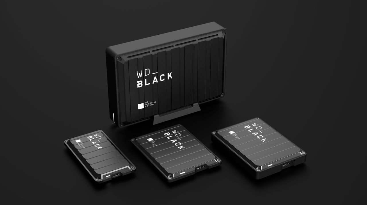 やだかっこいい...! Western Digitalの黒いゲーム用ストレージ