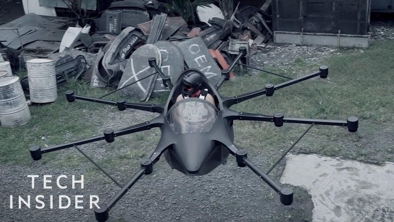 ドローンに乗って空を飛びたい…! フィリピンの発明家が、有人eVTOL航空機を自作