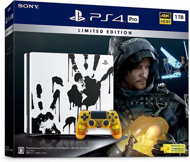 【Amazonサイバーマンデーセール速報】PlayStation 4 Pro『DEATH STRANDING』同梱版がセールってマジかよ?