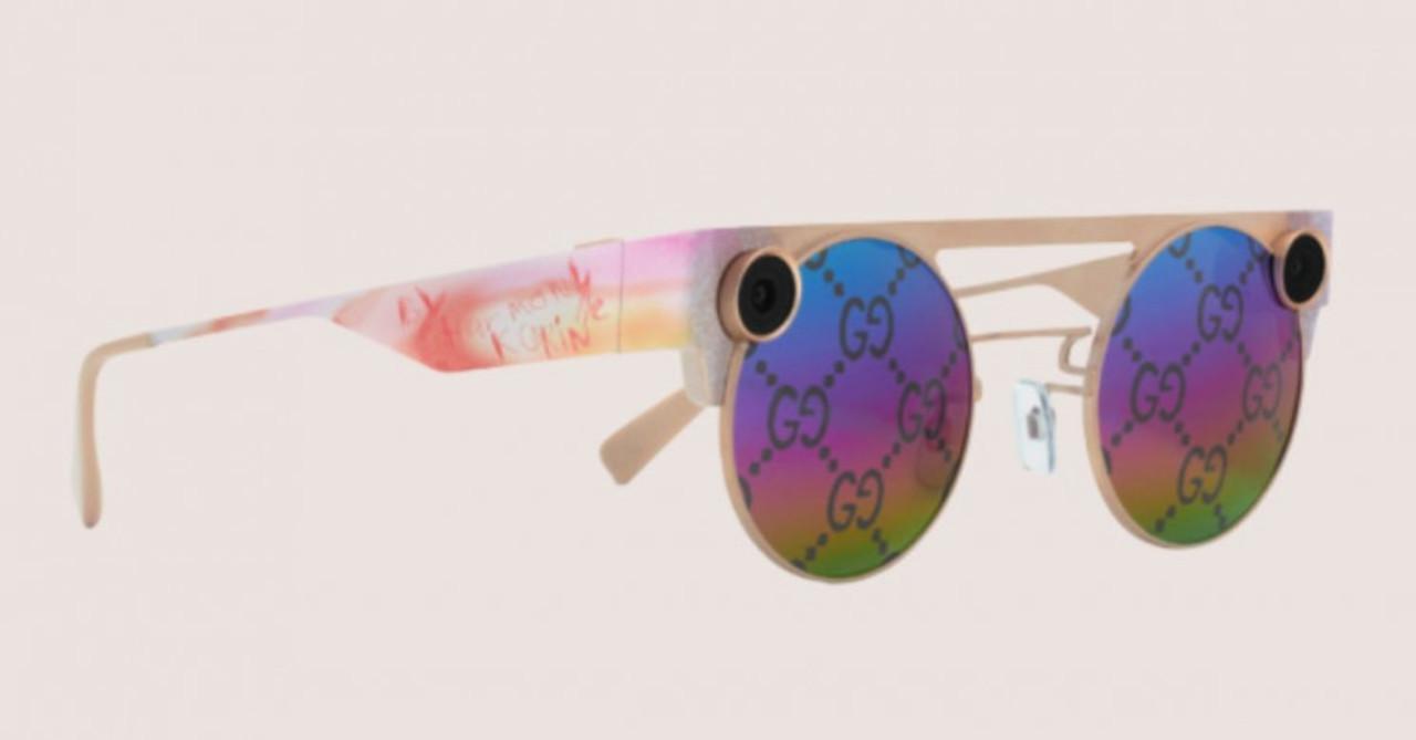 SnapchatのARサングラスがグッチとコラボした限定版を発表。映画も撮れるよ