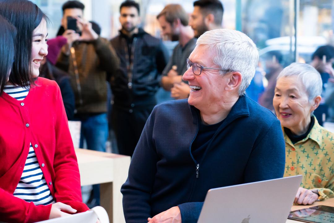 Appleのティム・クックCEO、来日!