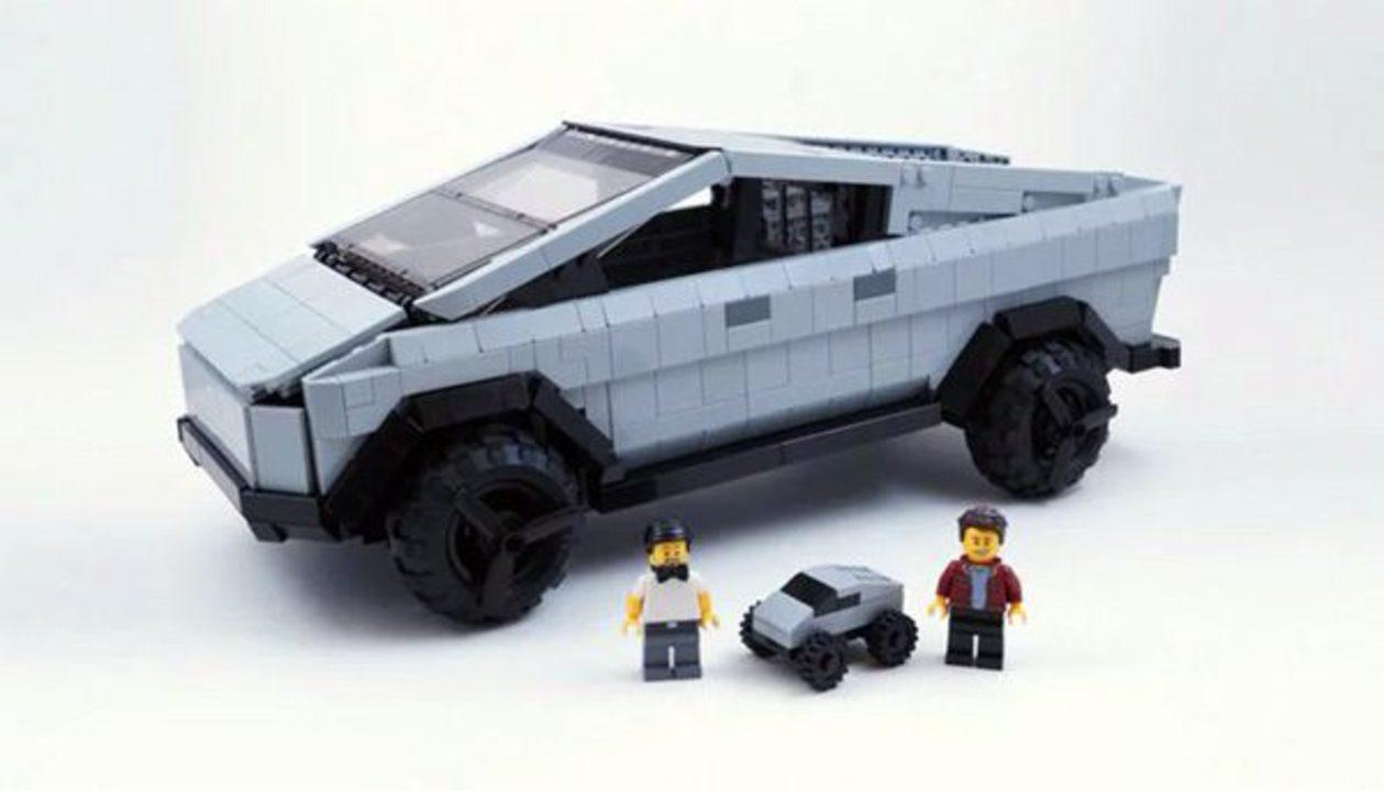 LEGO IDEASにCybertruck登場。1万の支持で製品化なるか?