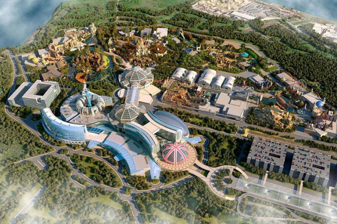 46億円で建造されるUKディズニー「ザ・ロンドン・リゾート」の完成図。2024年オープン予定