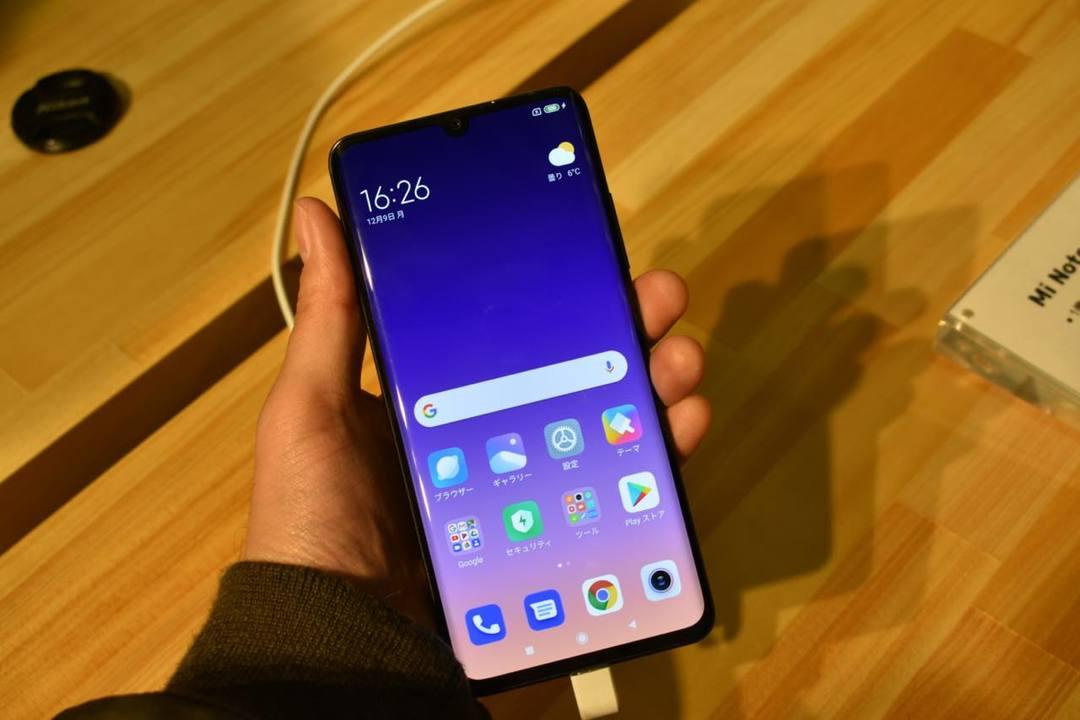 Xiaomiの日本第一弾スマホは、1億800万画素5眼カメラ搭載で5万円台だ! スマートバンドとバッテリーも