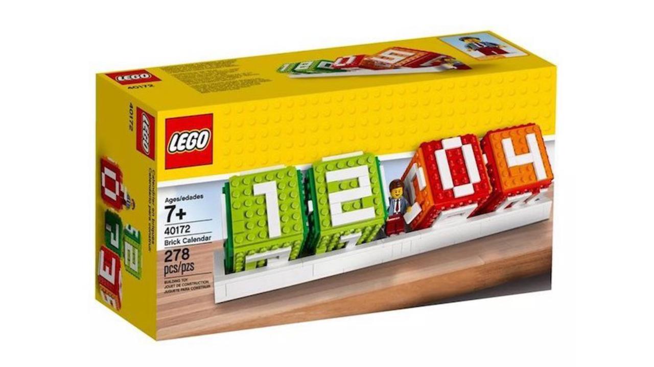 レゴなのに実用的! ポップで可愛い公式レゴの卓上カレンダー