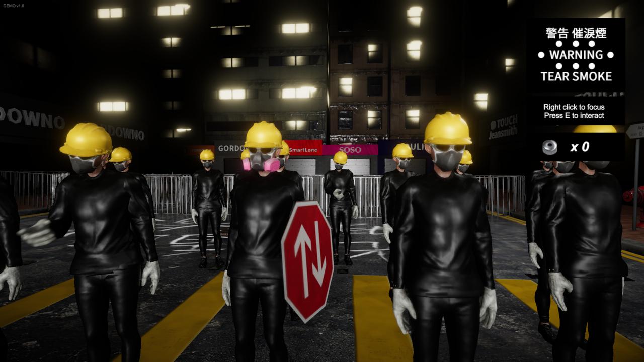 香港民主化デモをモチーフにしたゲームに「待った」! 中国への忖度なのか…