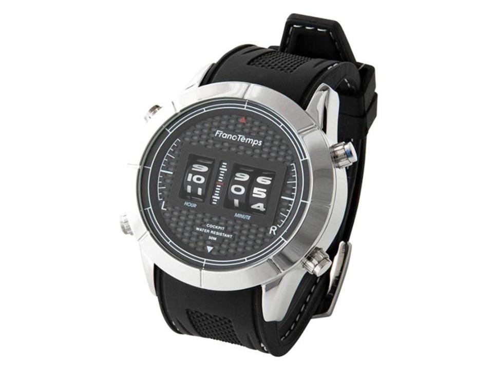 流されない自分をブランディング。独創的なドラム式時刻表示の腕時計、FrancTempsの「COCKPIT」