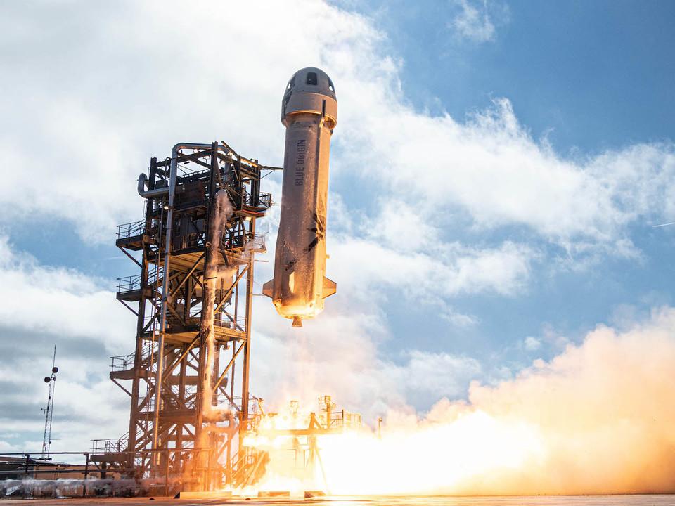 ブルー・オリジンのロケットがまたまた打ち上げ&着陸に成功しました