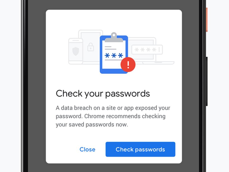 Chrome、盗難パスワード入力時のリアルタイム警告はじめました