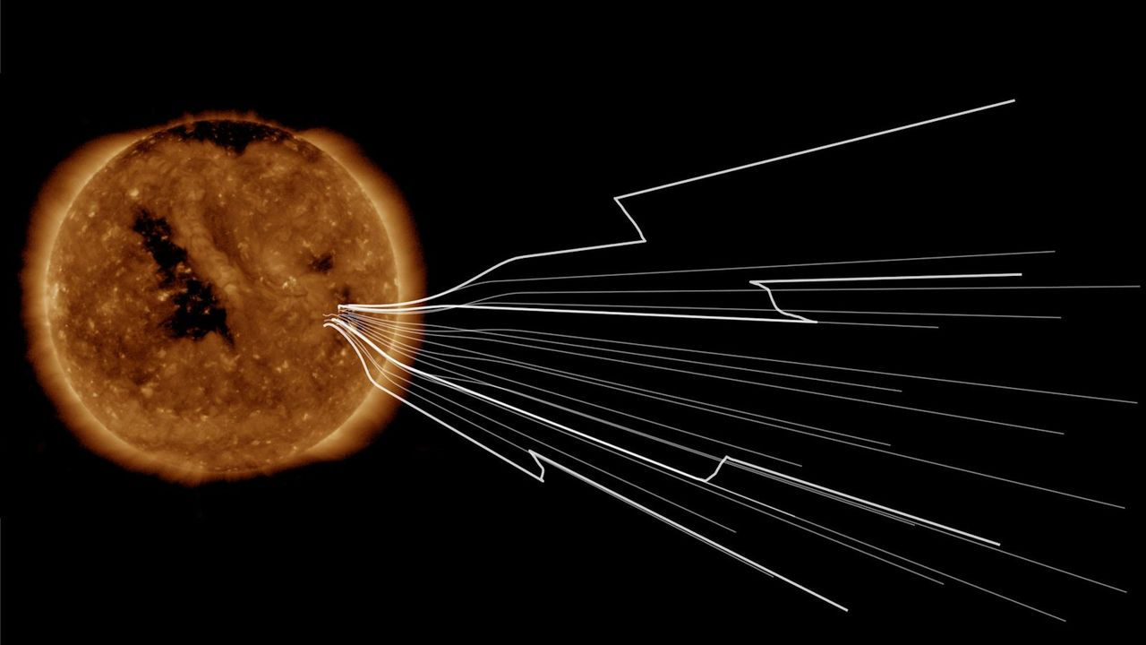 本日の宇宙天気は静穏なり。太陽に最接近中の「パーカー・ソーラー・プローブ」が明かす太陽圏の空模様