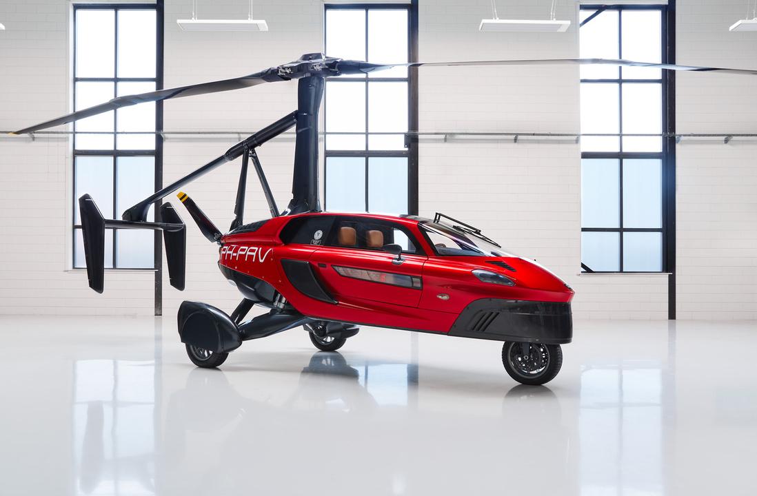 商用化秒読み! 「空飛ぶ車」オランダのPal-V、ついに2021年リリース