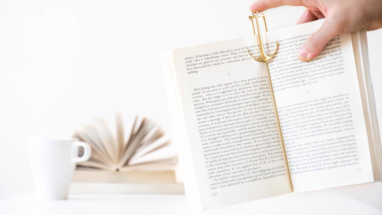 読書中の小さな課題を解決してくれる金属製しおり「Page Anchor」