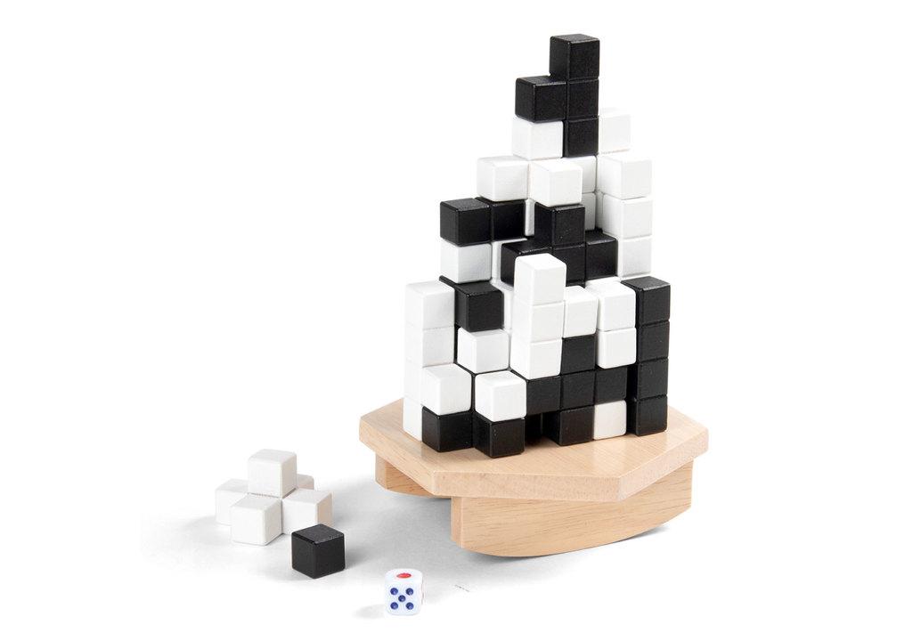 積める? 積めない? むしろ積み途中でも素敵なボードゲーム、クリスマスにいかがでしょ?
