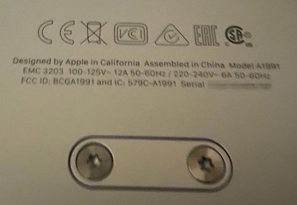 ヨーロッパに中国産Mac Proが届く。ぜんぶアメリカ生産じゃないんだね…
