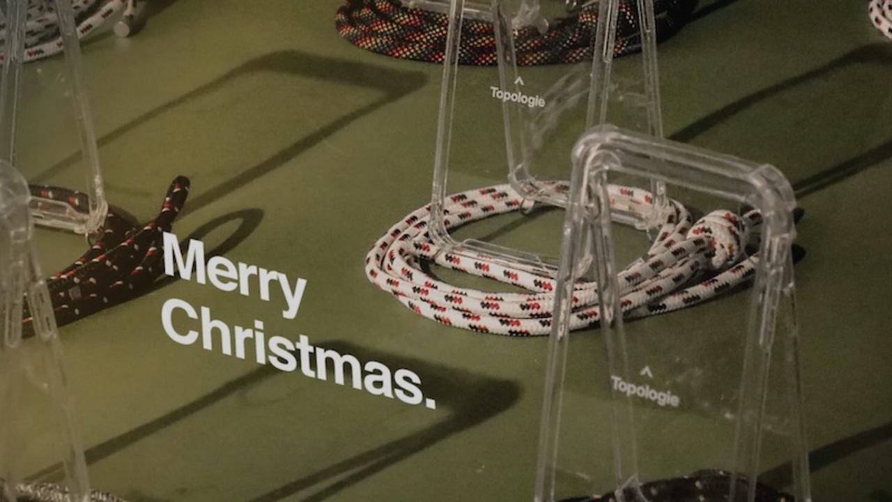 大切なあの人へのプレゼントは決めた? バックパックが人気のTopologieが「クリスマスギフトガイド」を公開
