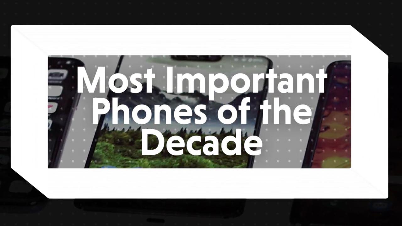 2010年代、もっとも話題になったスマートフォン10選