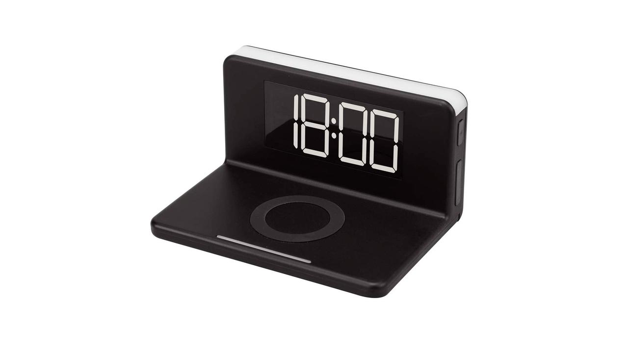 【読者限定で20%オフに】ワイヤレス充電器と目覚まし時計、ナイトライトが合体! コンパクトで枕元がスッキリ