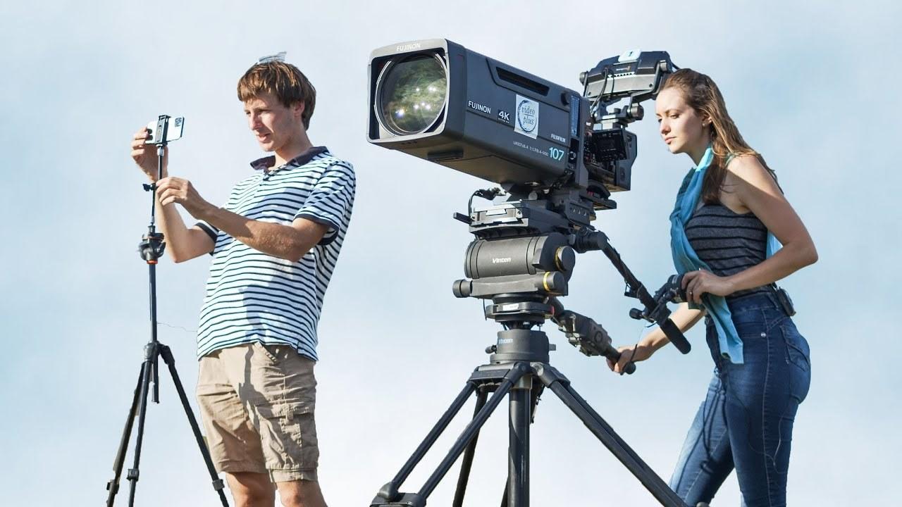 iPhone 11 Proは約2700万円のテレビカメラにどこまで対抗できるか