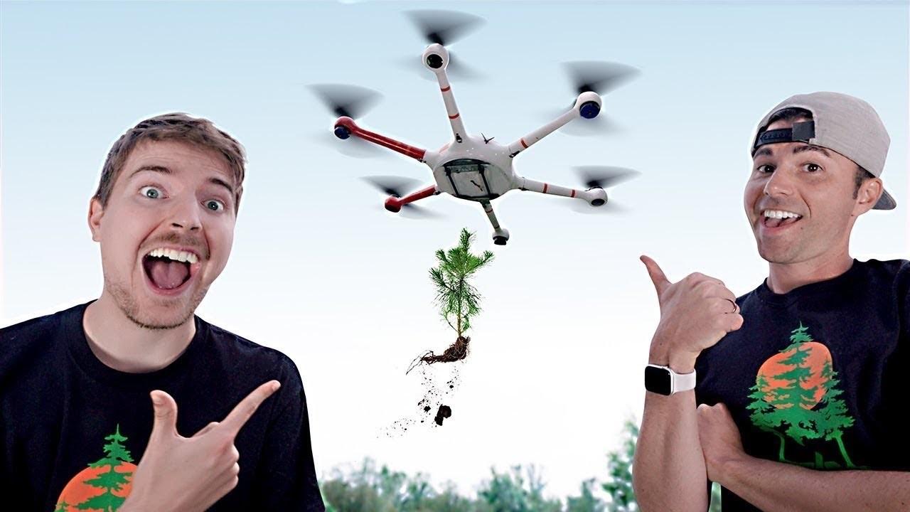 YouTuber、20万本の植樹資金を集める