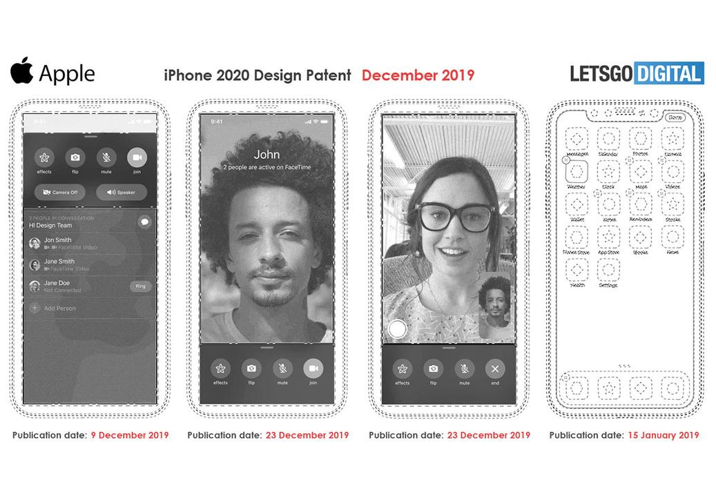 ノッチレスな次期iPhoneの新しい噂が特許情報より浮上せり!