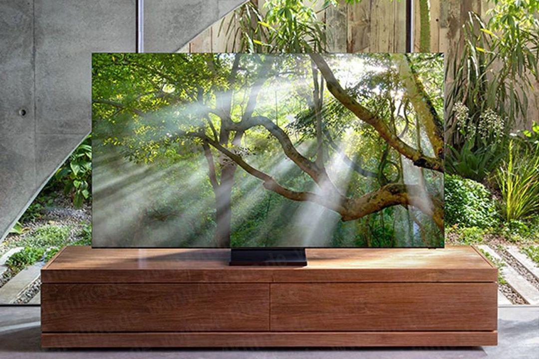 Samsungが「ベゼルレス8K QLED TV」をまもなく発表するかも