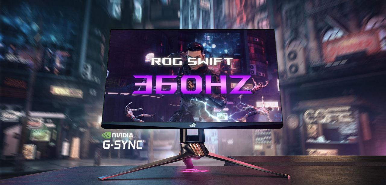 僕らはまだ、滑らかさが足りない? ASUSから360Hz駆動のゲーミングモニターが発表 #CES2020