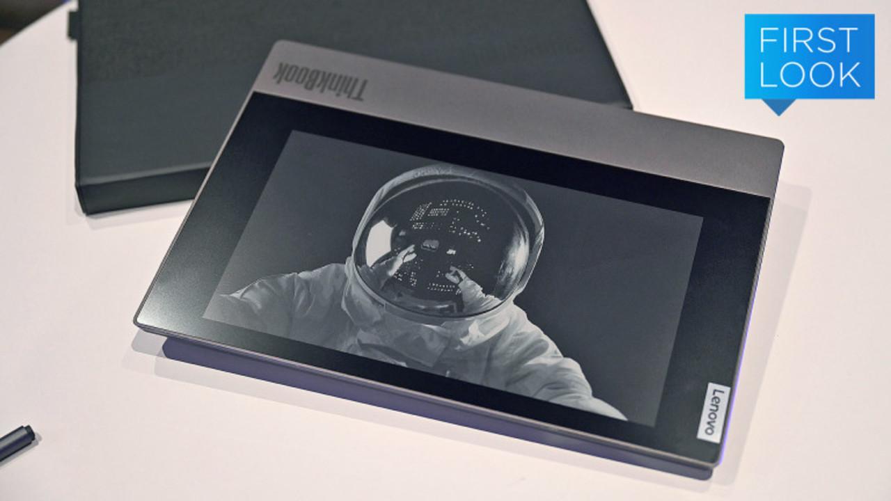 その手があったか…閉じるとE-inkディスプレイを使えるThinkBookが登場 #CES2020