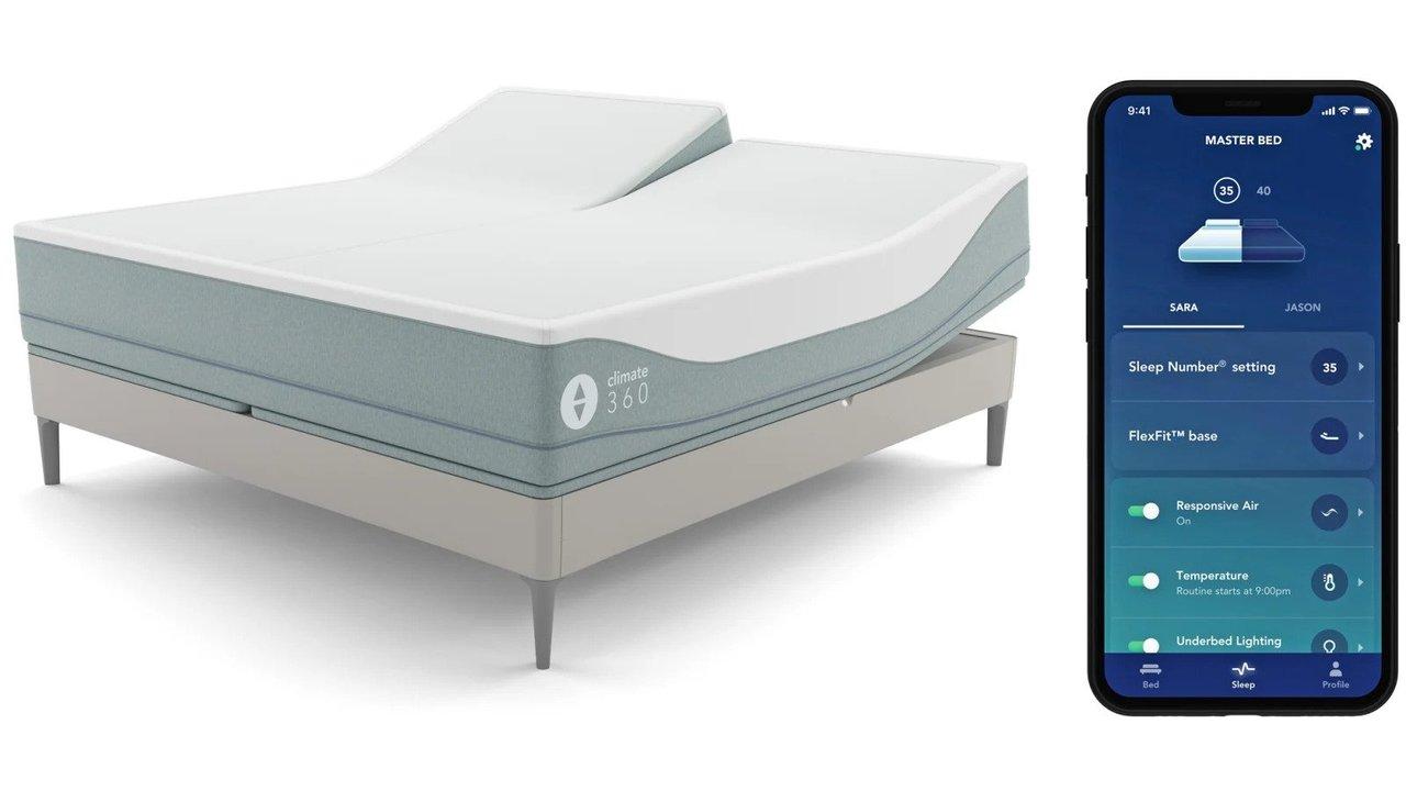 ベッドでの喧嘩、減ります。寒暖を左右で分けるベッドなら #CES2020