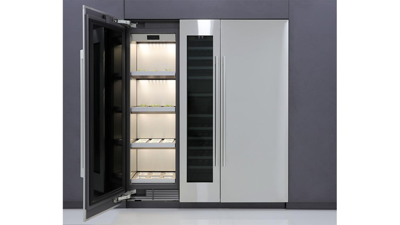 冷蔵庫の隣に合体! LGから屋内型家庭菜園マシーン #CES2020
