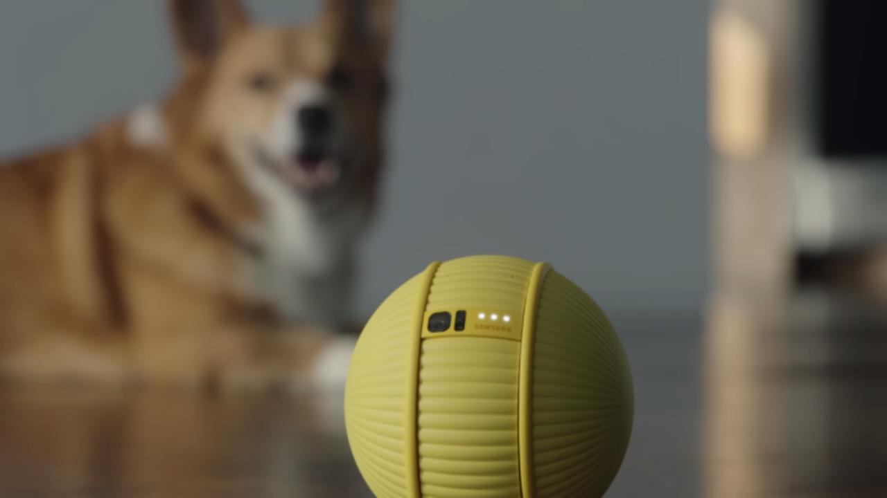 SamsungからBB-8みたいな球体アシスタント・ロボ「Ballie」#CES2020