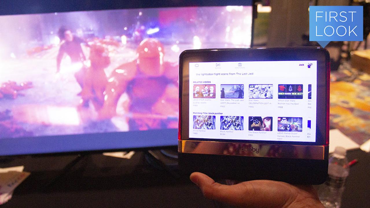 動画ストリーミングサービス乱立の救世主「Dabbyタブレット」なら一括管理 #CES2020