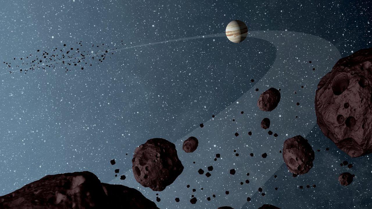 木星が彗星を地球に送り込んできているらしい