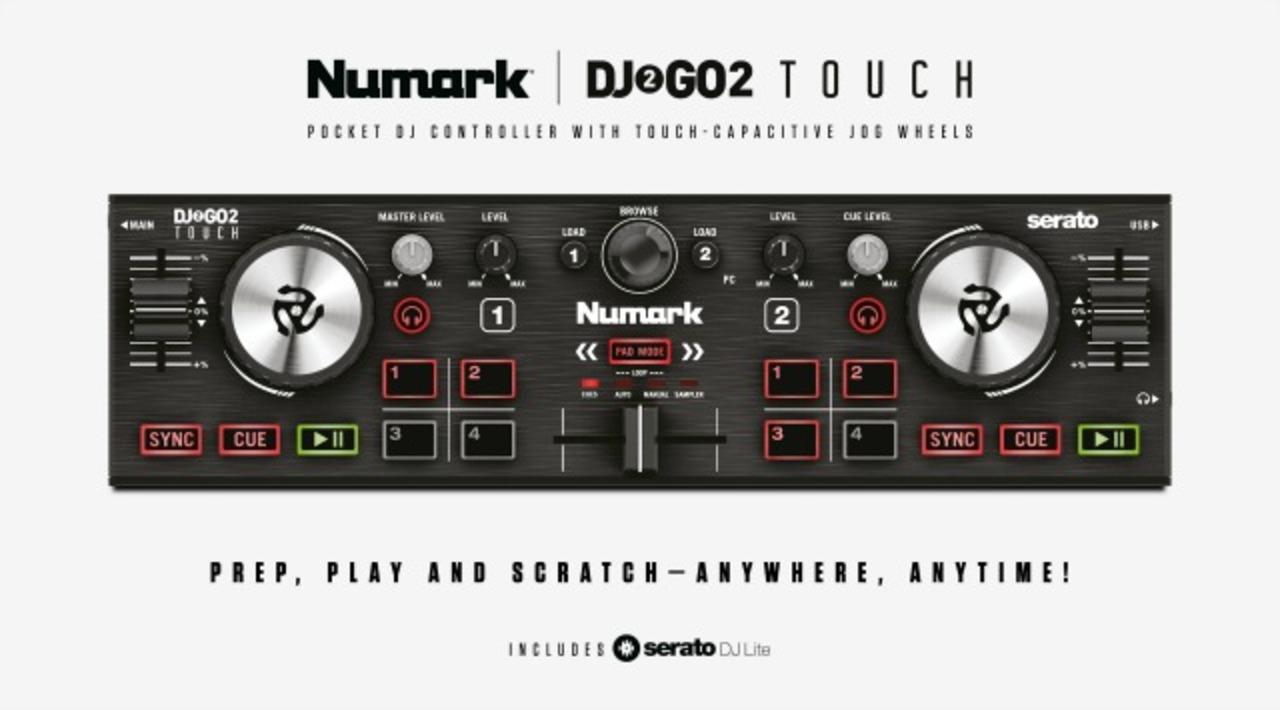 NumarkのポータブルDJコントローラー、後継機は堅実アプデ。タッチ操作で、よりイマっぽく